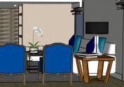 proyecto decoración y amueblamiento salón 78