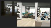 proyecto decoración y amueblamiento salón 80