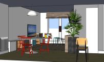interiorismo las rozas, salón, diseño de muebles, diseño de mesa, decoración lowcost (8)