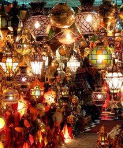 Lámparas, faroles Marroquíes