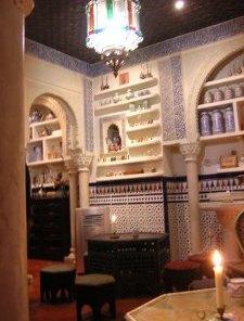 decoration tea room