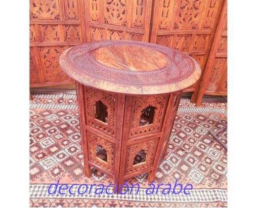 mesa india madera teka