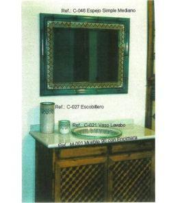 Cuarto de baño de cerámica árabe andalusi