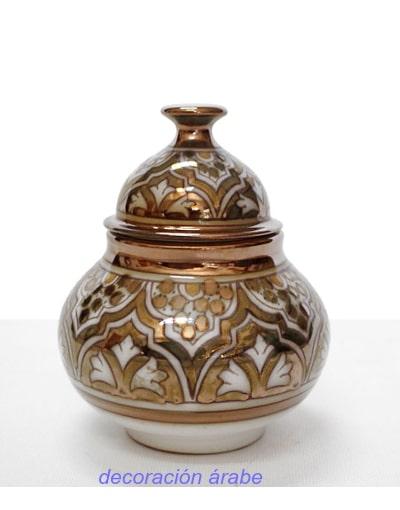bombonera cerámica nazar´i andaluza