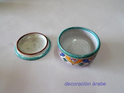 cajitas cerámica andaluza árabe
