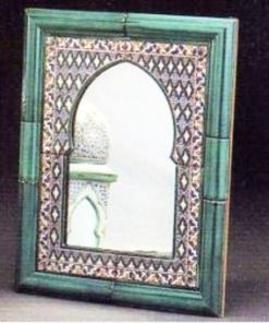 espejo cerámica andaluza