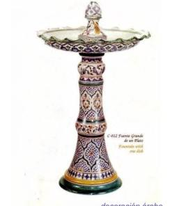 fuente cerámica árabe andalusí