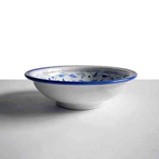 plato hondo cerámica andaluza andalusí