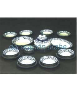 vajilla cerámica árabe andaluza
