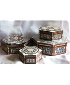 cajas taracea egiptoexagonal