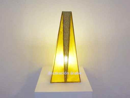 lámpara marroquí art decó