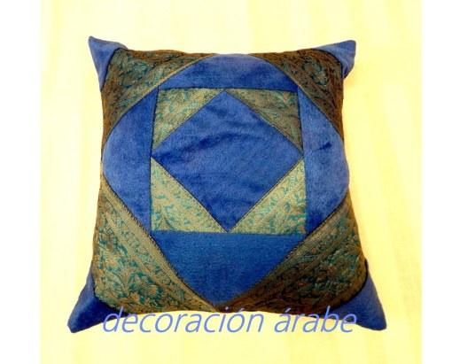 funda árabe azul