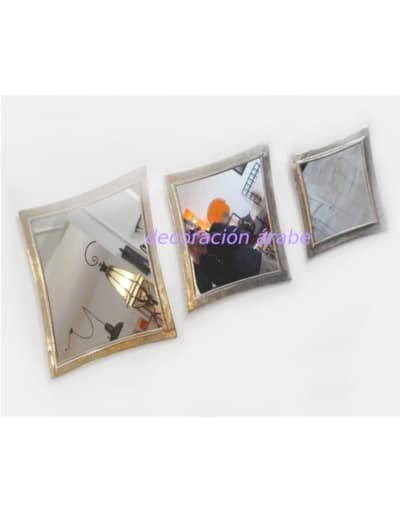 espejos árabes latón ovalados