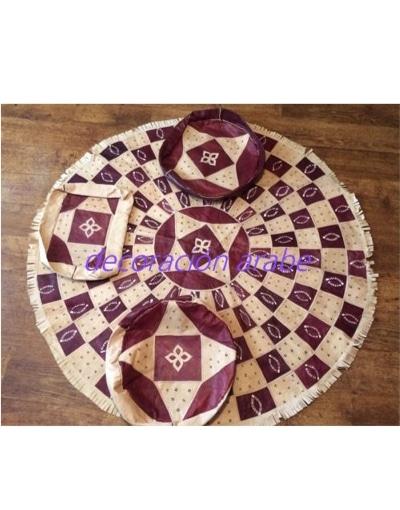 alfombra cuero africana Niger