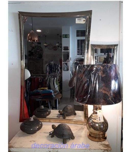 espejo marroquí latón