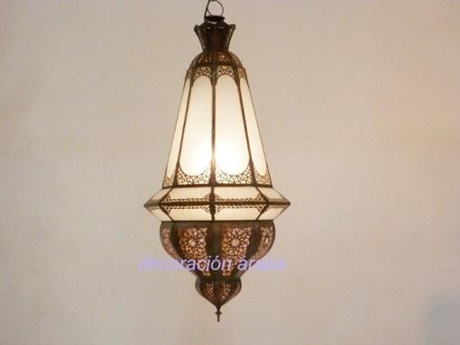 lámpara marroquí árabe lustre
