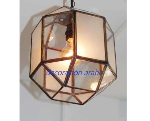 lámpara marroquí