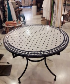 mesa mosaico terraza