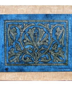 guadamecí piel azul Córdoba