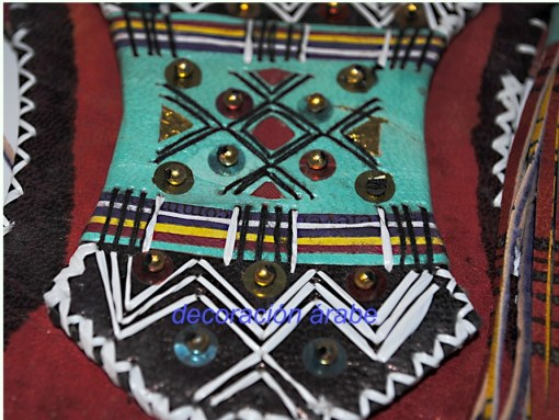 bolso cuero africano tuareg