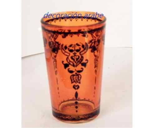 vaso árabe Deco naranja