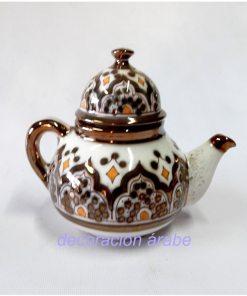 tetera cerámica árabe andaluza