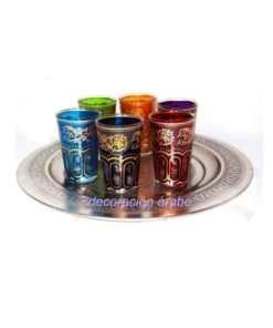 vasos árabes para el té