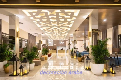 decoracion arabe hotel1