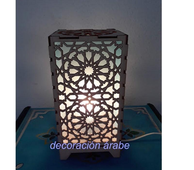 lámpara mesa celosía Alhambra
