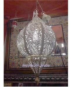 lampara india techo floral
