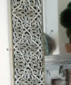 detalle espejo alpaca plateado
