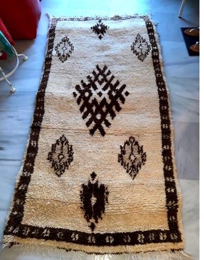 alfombra bereber beni ouarain
