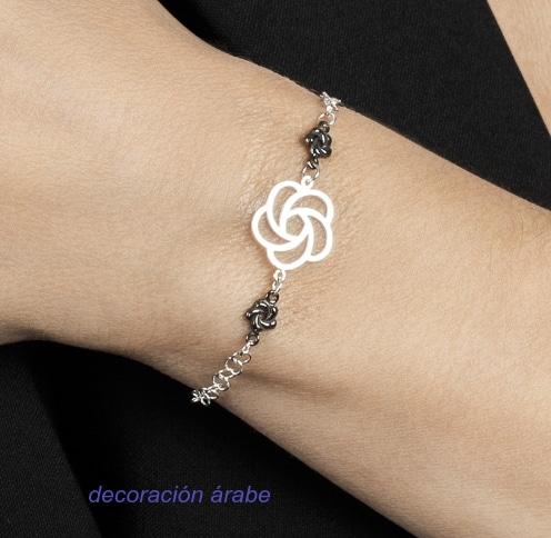 pulsera mujer plata de ley Nebula