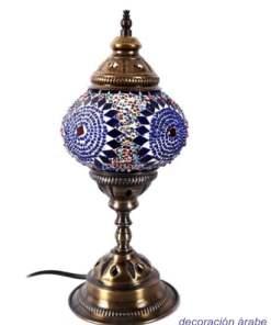 lámpara turca para mesita de noche