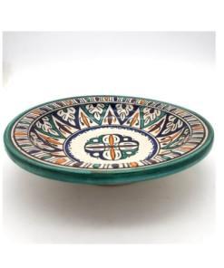 plato hondo cerámica marroquí
