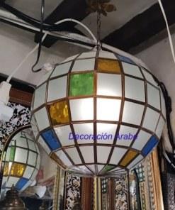 lámpara granadina colgante esfera
