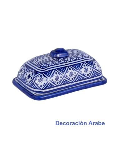 cerámic a marroquí mantequillera
