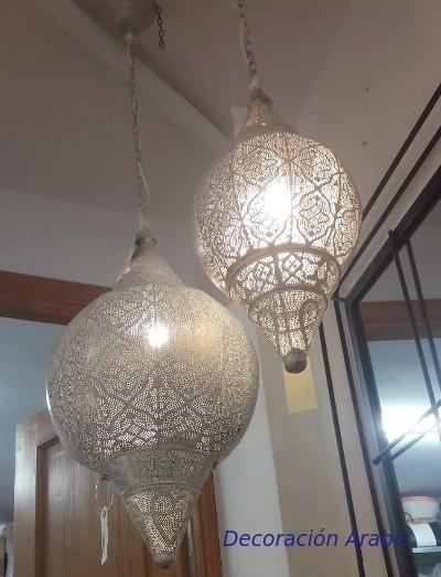 lampara de India techo calada