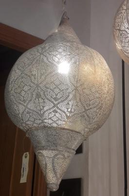 lampara de techo de India blanca modelo Kerala