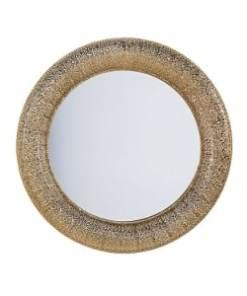 espejo calado dorado