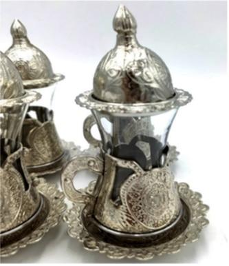 vaso Turquía para el café