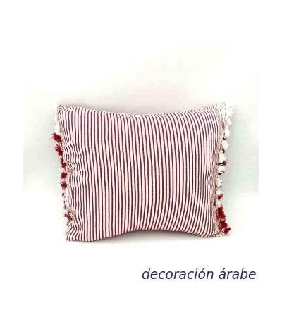 cojin marroquí artesanal
