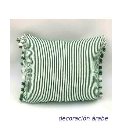 cojin marroquí algodón