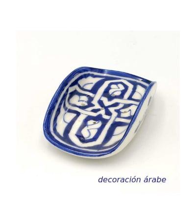 jabonera cerámica árabe