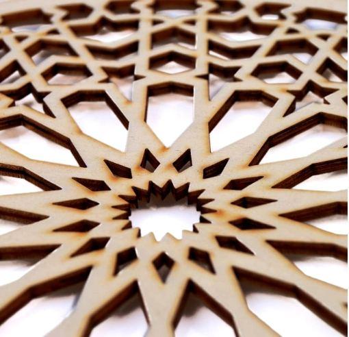 celosía de madera para pared Generalife