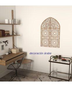 ventana de madera en celosía para pared