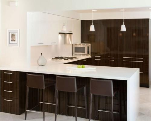 L Shaped Kitchen Layout Breakfast Bar