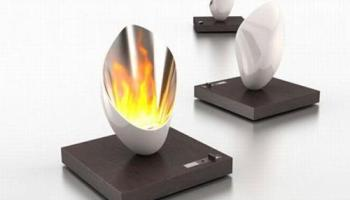 chimenea minimalista y funcional burn out