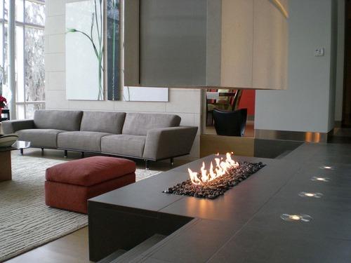 chimeneas elegantes para hogares modernos