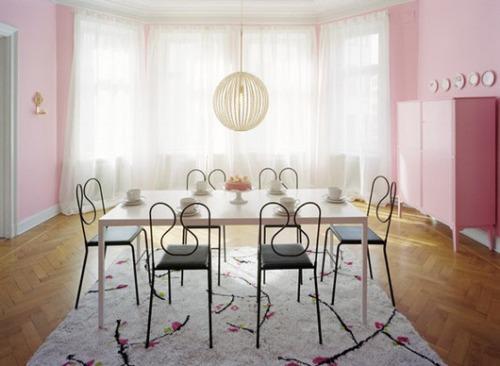 Como decorar un comedor foto comedor moderno y clido a - Ideas para decorar un comedor ...